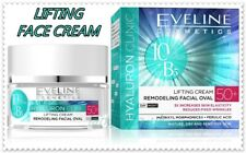 Eveline Hyaluron Clinic Lifting Cream 50+ Remodeling Face Oval Anti Wrinkle 50ml