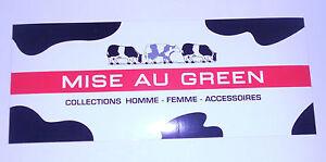 """Autocollant """"Mise Au Green"""""""