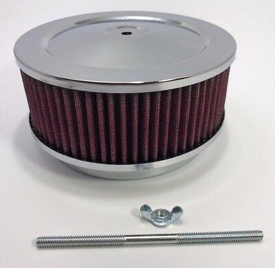 Washable Chrome 6 3 8 Air Cleaner Assembly 4 Bbl Barrel Carburetor Ebay