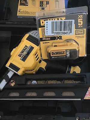 DEWALT DCN692M1 20V MAX XR CORDLESS BRUSHLESS DUAL SPD FRAMING NAILER 5ah batt