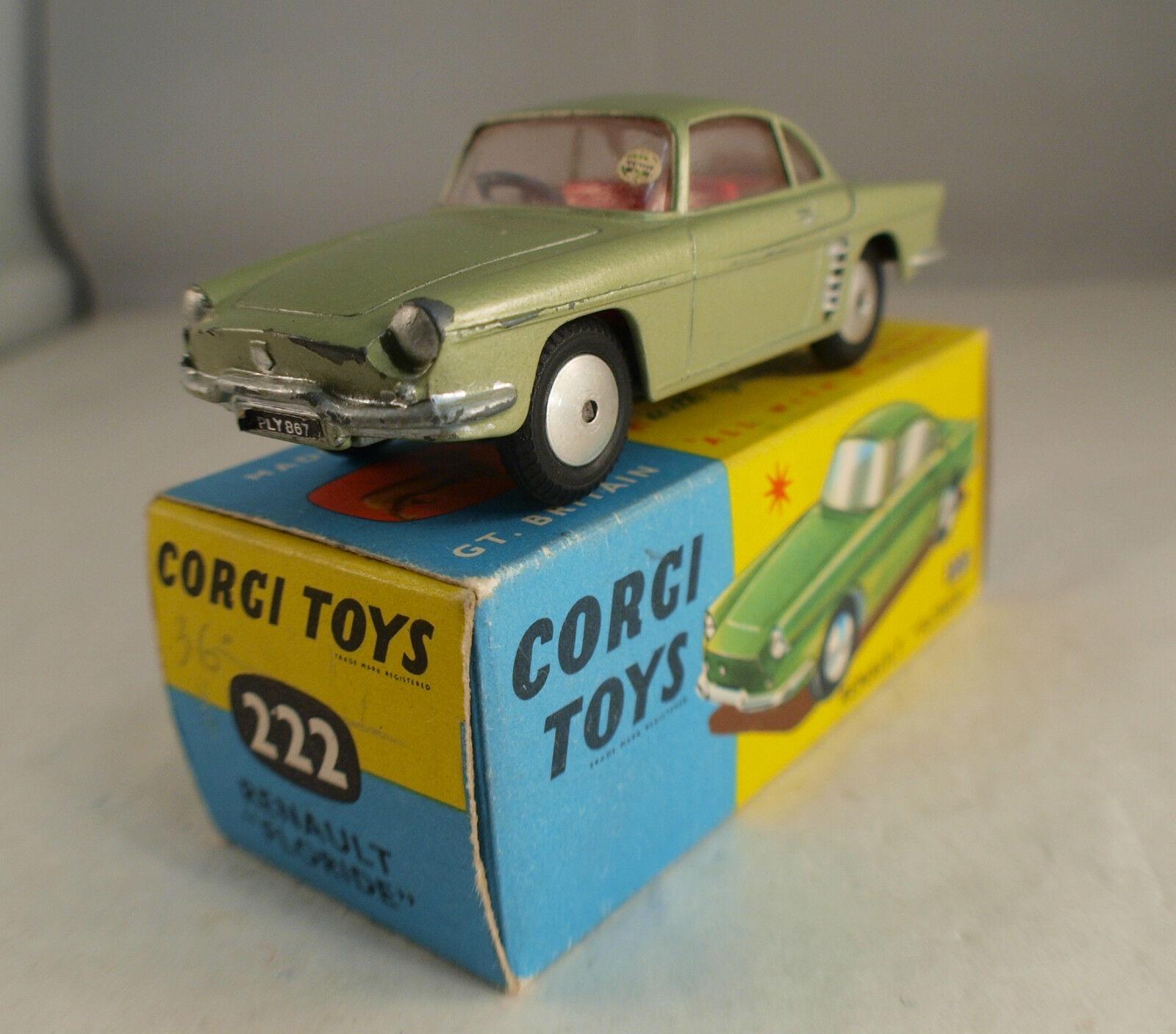 Corgi GB 222 Renault Florida Seldom Unplayed in Box 1964