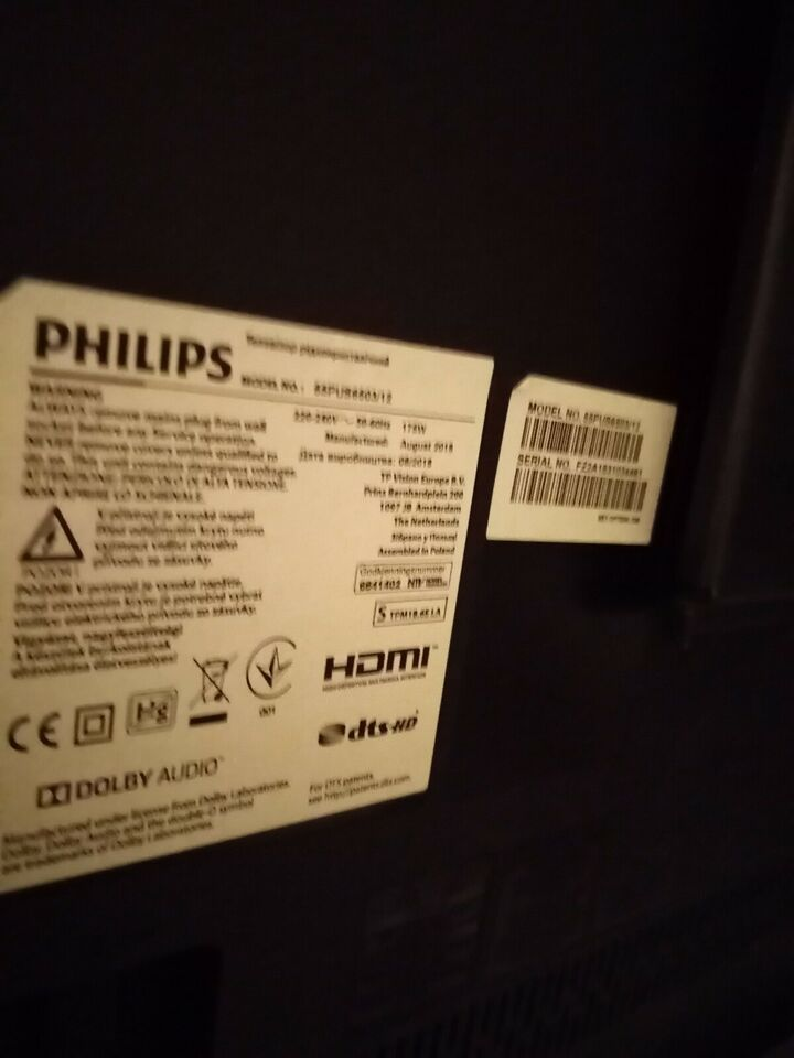 Philips, Smart tv 55, 55""