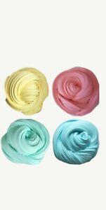 Details about Fluffy slime  Unicorn poop  slime  floam  Pack of four  Uk  Seller