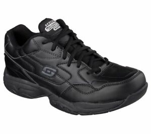 77032-Skechers-Homme-FELTON-Altair-Travail-Chaussures-Antiderapante-Noir-Unisexe