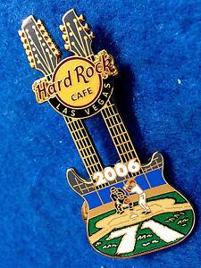 Las-Vegas-Beisbol-Parque-Diamante-Jugar-Bola-Dn-Guitarra-2006-Hard-Rock-Cafe-Pin