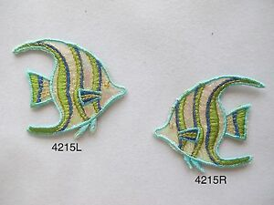 4215-Green-Tropical-Aquarium-Fish-Fishing-Embroidery-Iron-On-Applique-Patch