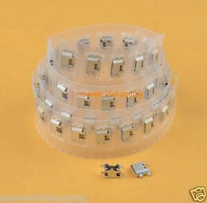 100pcs Micro USB Charging Port Charger For ZTE N5 N9510 N9520 Z970 Z787 Z987