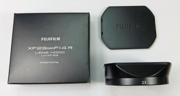 Fuji Lh-xf23 Pare-soleil Métal Noir Pour Xf 23mm F/1,4 R