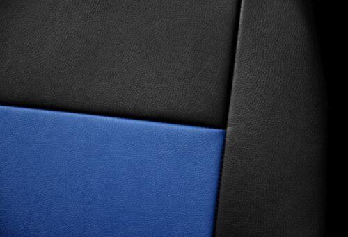 Cuero Sintético Cubiertas de Asiento Delantero AJUSTE Kia Sportage 1+1 Negro//Azul