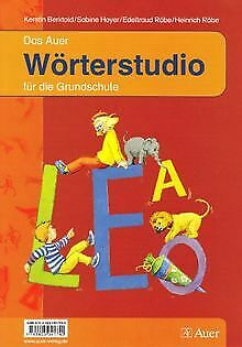 Das Auer Wörterstudio für die Grundschule. 1. Klass... | Buch | Zustand sehr gut