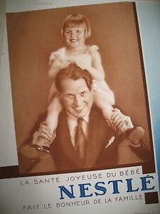PUBLICITE-DE-PRESSE-NESTLE-LA-SANTE-JOYEUSE-DU-BeBe-FRENCH-AD-1930