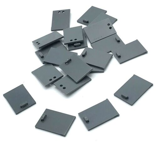 Lego 20 Dark Bluish Gray Container Cupboard 2 x 3 x 2 Door Pieces