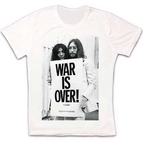War Is Over John Lennon Retro Vintage Hipster Unisex T Shirt 883