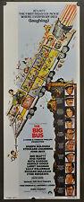 THE BIG BUS 1976 ORIGINAL 14X36 MOVIE POSTER  JOSEPH BOLOGNA LARRY HAGMAN