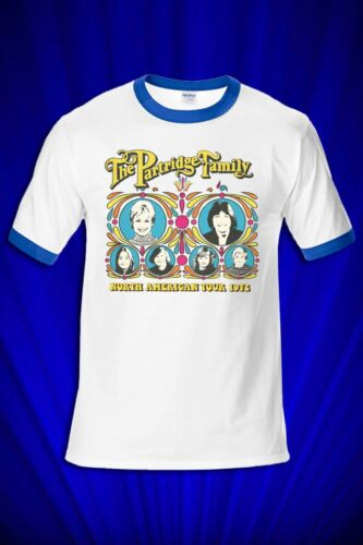 Partridge Family /'72 Tour RINGER Tee FREE SHIP USA I Think I Love You