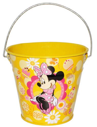 """Met Metalleimer für Kinder // Deko gelb /"""" Disney Minnie Mouse /"""" 0,5 Liter"""