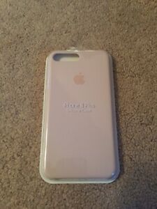 APPLE Custodia in silicone per iPhone 8 Plus/7 Plus Rosa sabbia