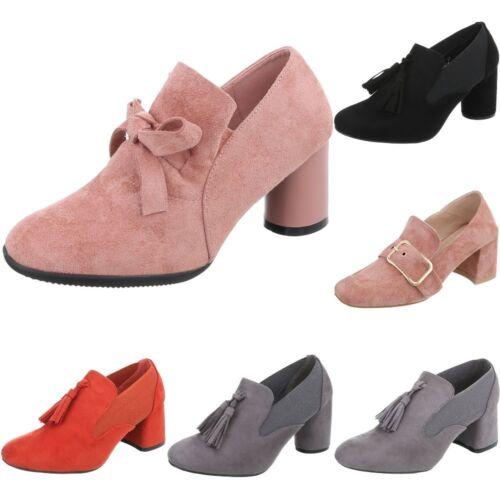 Pumps Mit Deko Stiefeletten Ankle Boots Damenschuhe 5026 Ital-design