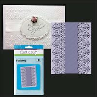 Cuttlebug Embossing Folders Scalloped Edge All Occasion Folder 5x7 Lace,wedding