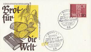 Ersttagsbrief-Brot-fuer-die-Welt-1962