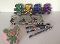 Tokidoki Bundle 4 Eyeshadow 3 Eyeliner 1 Nail File Brand