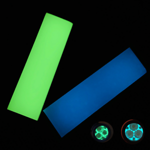 Neon-Blue-Green-Glow-Knife-Handle-Blanks-Scales-Luminous-Board-DIY-Material