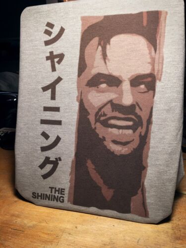 Inspired by Jack Nicholson The Shining Japanese Movie Poster T-Shirt