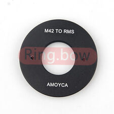 RMS Royal Microscopy Society to M42 Lens Adapter