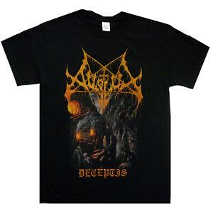 Avslut-Deceptis-Shirt-S-XXL-Shirt-Black-Metal-Tshirt-Official-T-shirt