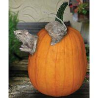 Realistic Furry Rat Pumpkin Push Ins With Foam Pumpkin Prop