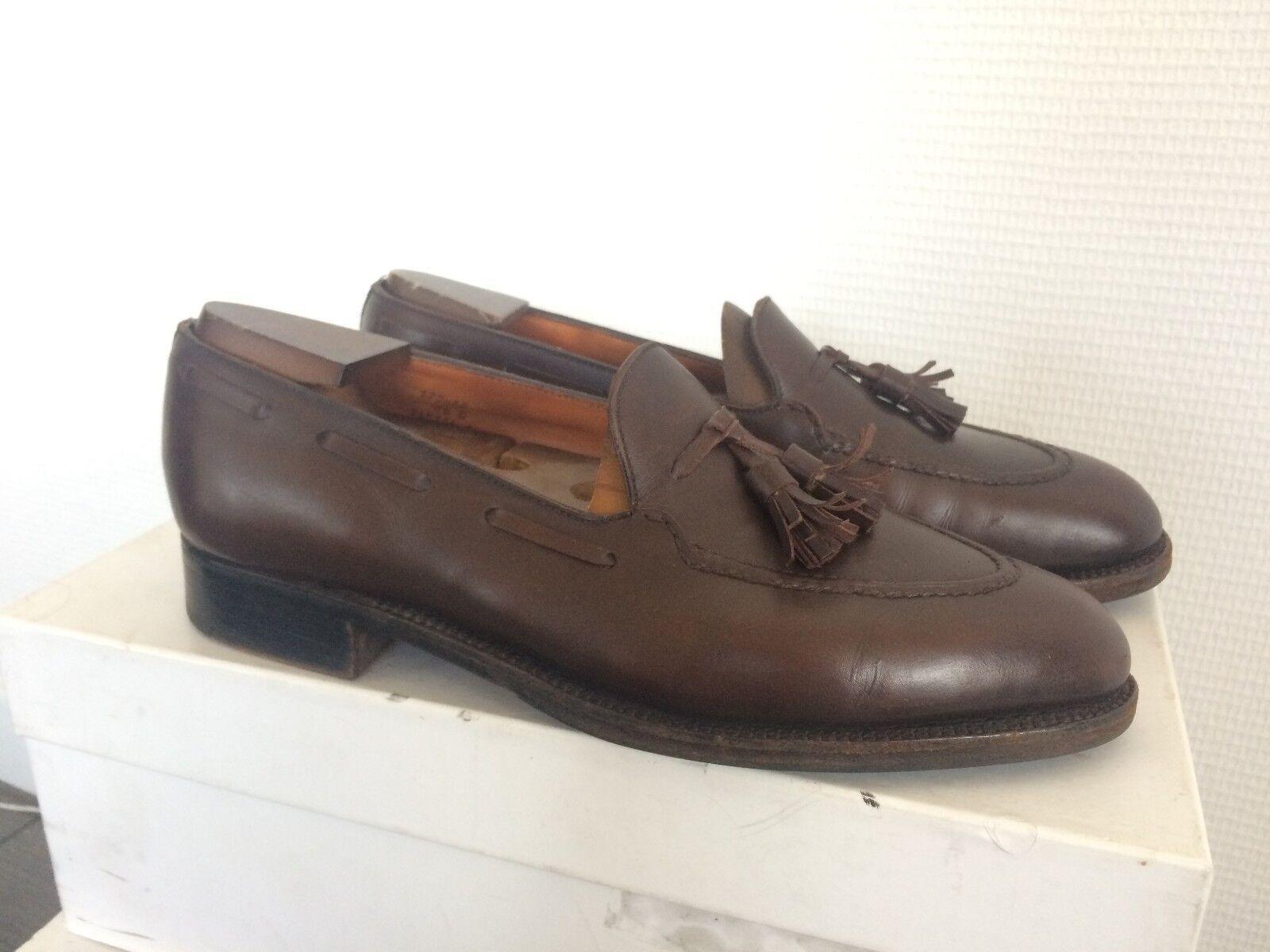 J.M WESTON Brown Loafers Size 6,5 D / EU 40 /   7 - 7,5 - France