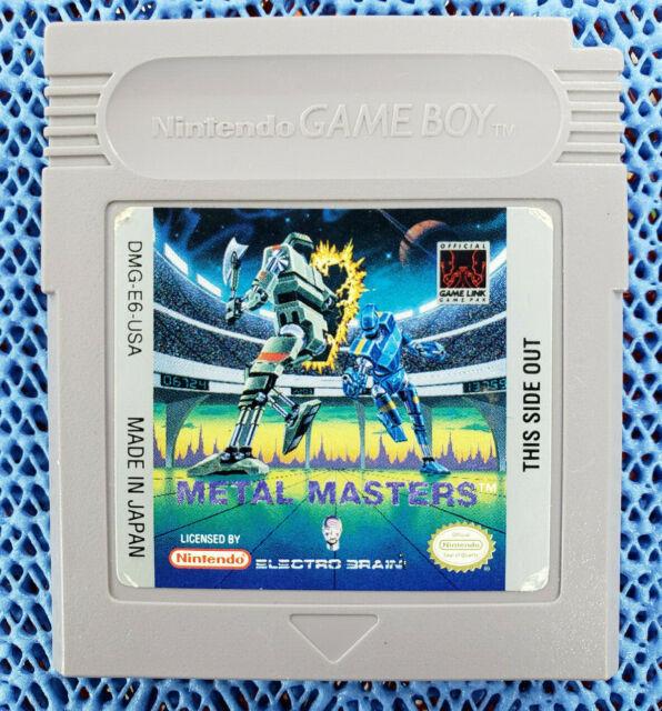 USED GENUINE - METAL MASTERS - NINTENDO GAME BOY - Cartridge Only - FREE S&H