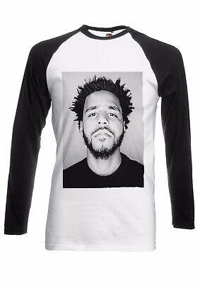 Jermaine Lamarr J Cole Hip Hop Men Women Long Short Sleeve Baseball T Shirt 30