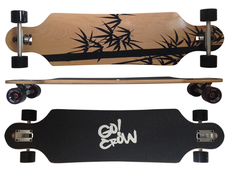 MAXOfit Deluxe Longboard  Crow No. 12 103 cm