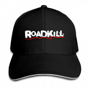 Roadkill-logo-Unisex-Adjustable-Baseball-Snapback-Cap-Hat