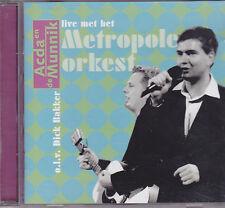 Acda en de Munnik-Live Met Het Metropole Orkest cd album