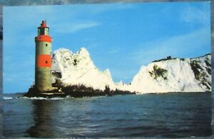 England-The-Needles-Rocks-and-Lighthouse-unposted