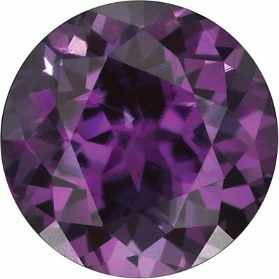 Chatham Brand Square Princess Cut Faceted Alexandrite Loose Gemstone Ring