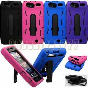 for-droid-razr-XT912-cell-phone-2-layers-case-skin-w-kickstand-amp-port-covers