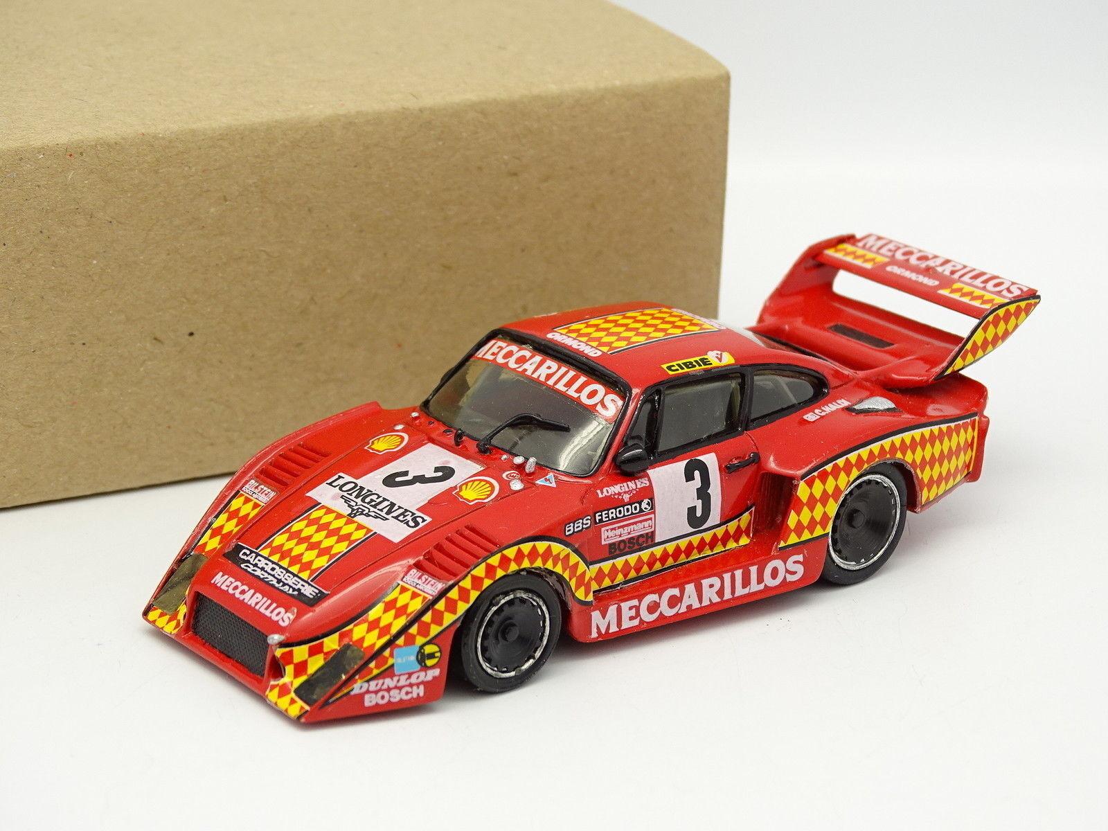 Record Kit Monté Résine 1 43 43 43 - Porsche 935 Turbo 1000km Dijon 1980 Meccarillos 308100