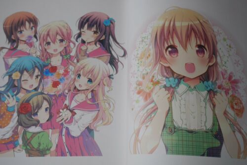 Hinako Note Art Book Illustration Book JAPAN Mitsuki