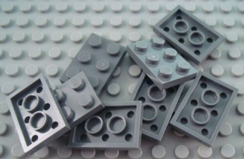 New LEGO Lot of 8 Dark Bluish Gray 2x3 Flat Plate Pieces from 79111 9516 7325