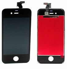 LCD Screen Touch Glass Digitizer Assembly for GSM AT&T iPhone 4 4G BLACK Screen