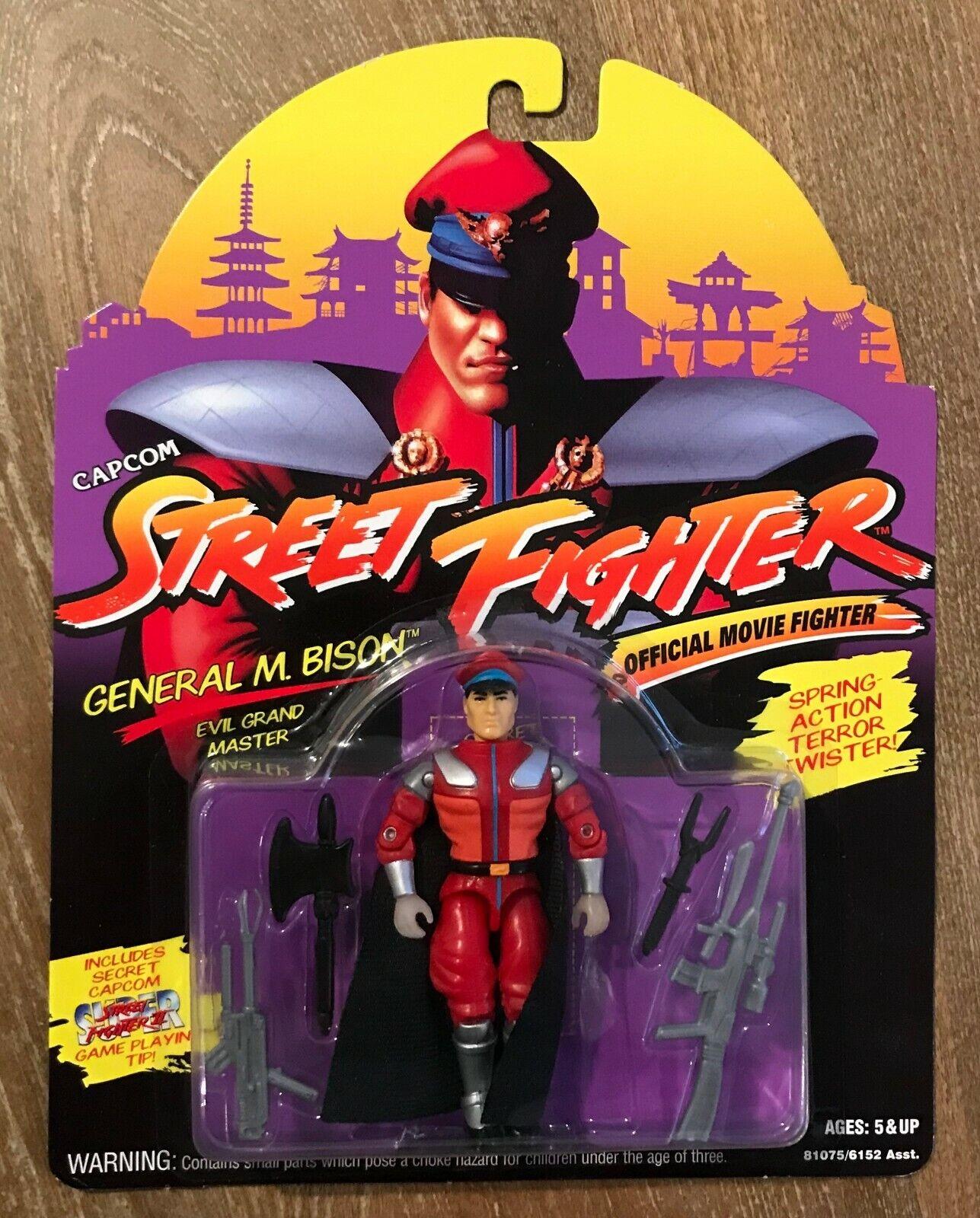 Hasbro 1994 Street Fighter The Movie General M Bison Moc G I Joe