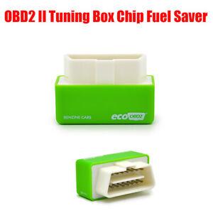 For Petrol Car Gas Saving Eco OBD OBD2 Economy Fuel Saver Tuning Box Chips New
