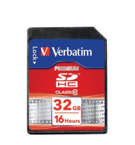 Tarjeta SDHC 32GB clase 10 Verbatim
