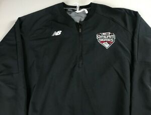 Dream-Series-USA-Baseball-Windbreaker-Jacket-Mens-XL-Pullover-1-4-Zip-Breathable