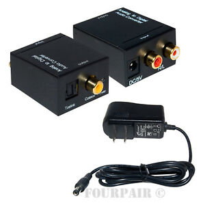 Analog-L-R-to-Digital-SPDIF-Coaxial-Coax-RCA-amp-Optical-Toslink-Audio-Converter
