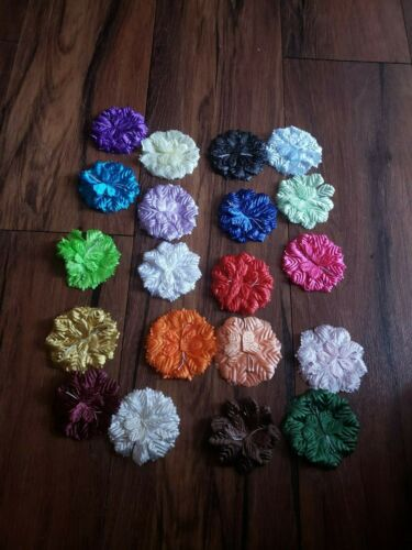 75 Carnation Flower Capia Base Corsages and Crafts Party  20 colors