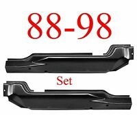 88 98 Inner Extended Cab Corner Set Chevy Gmc Truck 1.2mm Thick Both L&r Sides